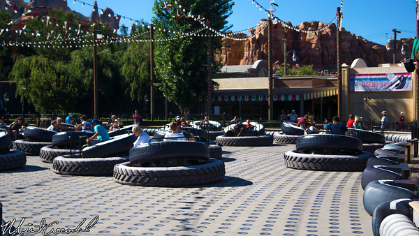 Disneyland Resort, Disney California Adventure, Cars Land, Luigi's Flying Tires