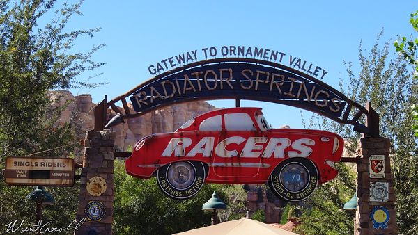 Disneyland Resort, Disney California Adventure, Cars Land, Radiator Springs Racers, Refurbishment, Refurb