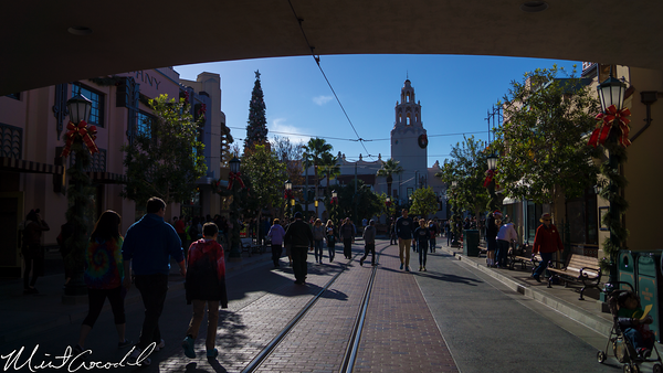 Disneyland Resort, Disney California Adventure, Buena Vista Street, Christmas Time, Christmas