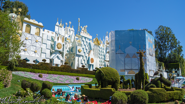Disneyland Resort, Disneyland, it's a small world, Facade, Clock, Tower, Refurbishment, Refurbish, Refurb