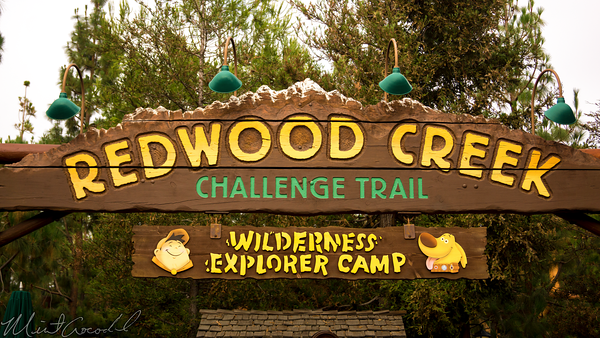 Disneyland Resort, Disneyland60, Disney California Adventure, Redwood, Creek, Challenge, Trail, Russell, Map, Recylce, Ranger, Theme, Flag