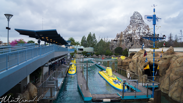 Disneyland Resort, Disneyland, Tomorrowland, Monorail, Submarine, Voyage, Matterhorn