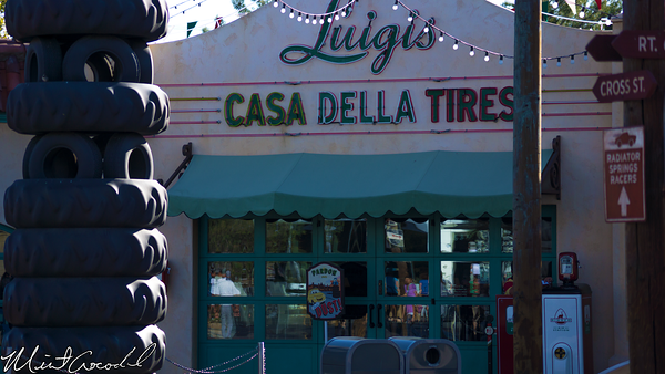 Disneyland Resort, Disney California Adventure, Cars, Land, Luigi's, Flying, Tires, Refurbishment, Refurbish, Refurb