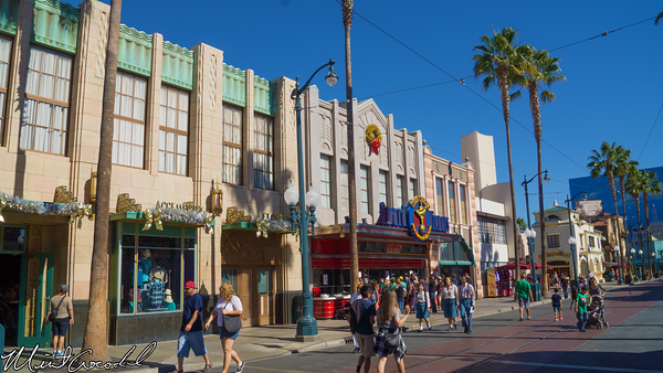 Disneyland Resort, Disney California Adventure, Hollywoodland, Hollywood Land, Christmas, Time