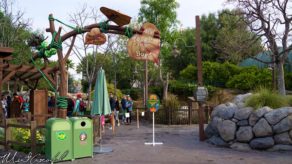 Disneyland Resort, Disney California Adventure, it's tough to be a bug