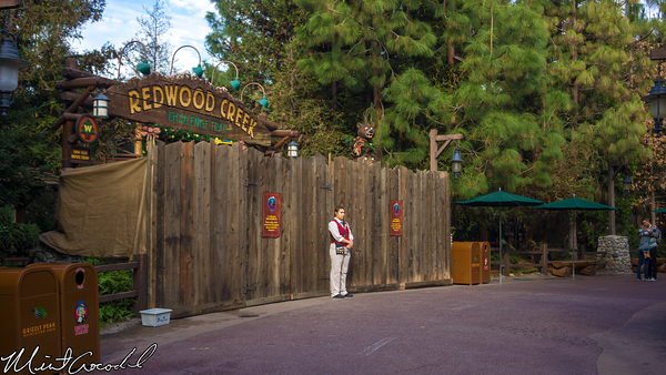 Disneyland Resort, Disney California Adventure, Redwood, Creek, Challenge, Trail, Refurbishment, Refurb, Refurbish