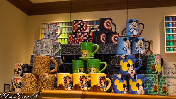 Disneyland Resort, Disney California Adventure, Captain America, Mug
