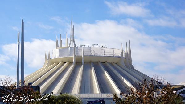 Disneyland Resort, Disneyland, Space Mountain, Safety Rail, Fall Protection