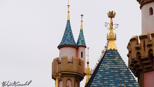 Disneyland Resort, Disneyland, Fantasyland, Sleeping Beauty Castle, Turret