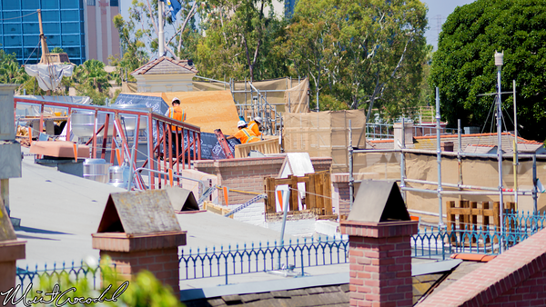 Disneyland Resort, Disneyland, Club 33, New Orleans Square, Refurbishment, Refurb, Rooftop