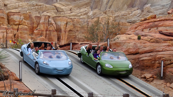 Disneyland Resort, Disney California Adventure, Cars Land, Radiator Springs Racers
