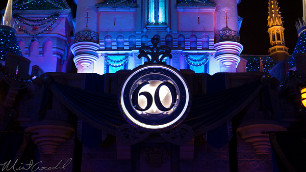 Disneyland Resort, Disneyland60, 60, Anniversary, 24, Hour, Party, Celebration, Kick, Off, Disneyland, Sleeping, Beauty, Castle, LED, Diamond, Bling, Dazzle