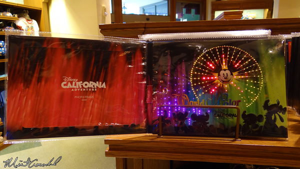 Disneyland Resort, Disney California Adventure, Buena Vista Street, World of Color, Light, Up, Picture, Frame