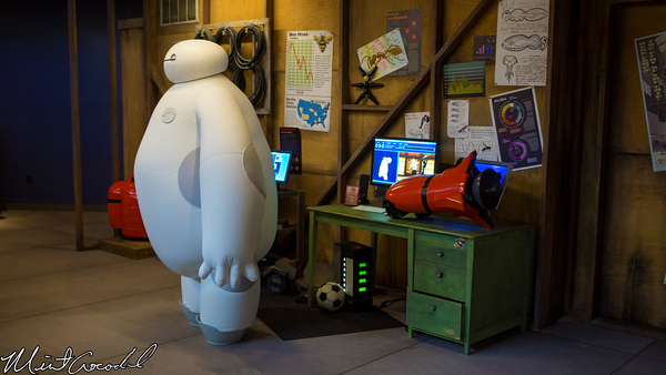 Disneyland Resort, Disneyland, Tomorrowland, Starcade, Big Hero 6, Baymax, Hiro