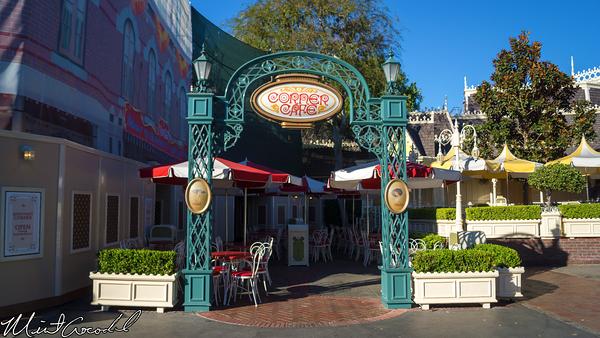 Disneyland Resort, Disneyland, Main Street U.S.A., Refreshment, Coke, Corner, Corridor