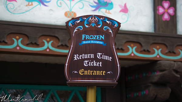 Disneyland Resort, Disneyland, Frozen, Meet and Greet, Return, Time