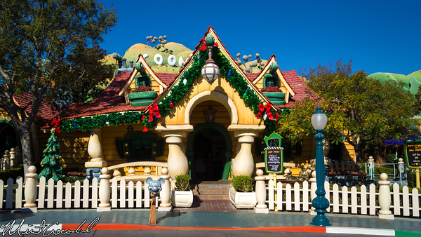 Disneyland Resort, Disneyland, Mickey's, ToonTown, Toon Town, Christmas, Time