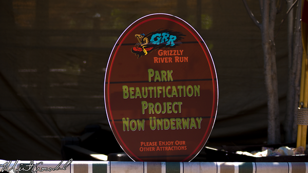 Disneyland Resort, Disney California Adventure, Grizzly River Run, Refurbishment, Refurb