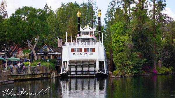 Disneyland Resort, Disneyland, Mark Twain, Refurbishment, Refurb