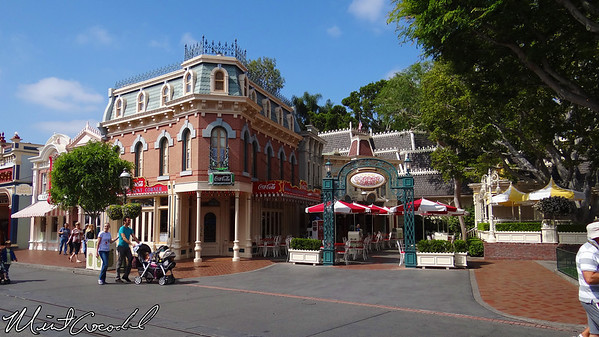 Disneyland, Main Street USA, Coke Corner, Refreshment Corner