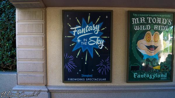 Disneyland Resort, Disneyland, Fantasy, In, Sky, Fireworks, Poster, Main Street U.S.A.