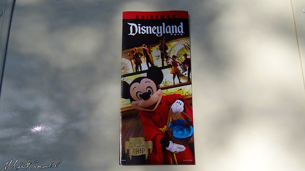 Disneyland Resort, Disneyland, Main Street U.S.A., Guide Map