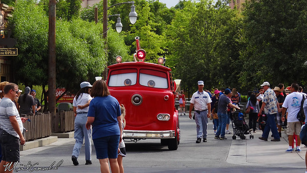 Disneyland Resort, Disney California Adventure, Cars Land, Red