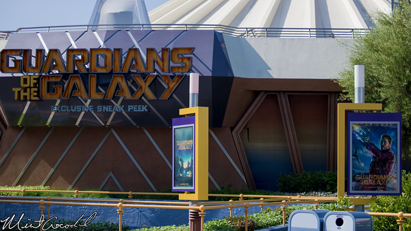 Disneyland Resort, Disneyland, Tomorrowland, Guardians of the Galaxy, Magic Eye Theater