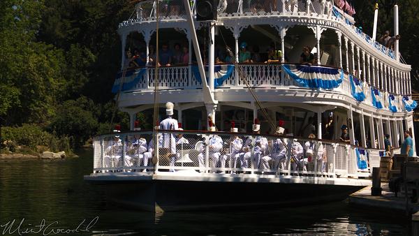Disneyland Resort, Disneyland60, Disneyland, Frontierland, Mark, Twain, Band