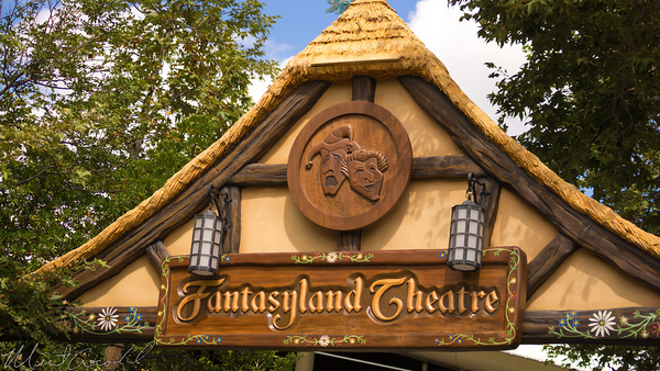 Disneyland Resort, Disneyland60, Disneyland, Fantasyland, Theatre, Theme, Flag, Rope