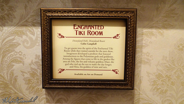 Disneyland Resort, Disneyland, Disney Gallery, Enchanted Tiki Room, 50th Anniversary, The Disneyland Story, Opera House