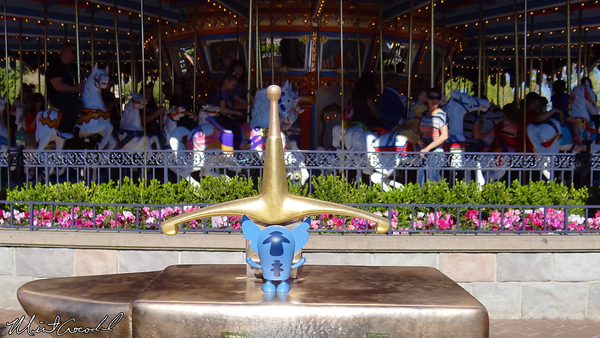 Disneyland Resort, Disneyland, Sword in the Stone, Stitch