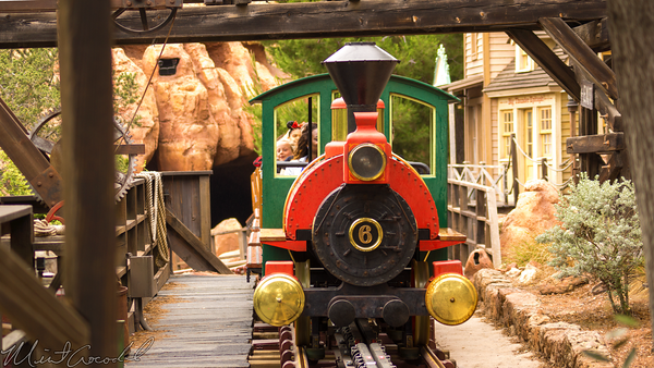 Disneyland Resort, Disneyland60, Disneyland, Frontierland, Big, Thunder, Mountain, Railroad, Storage