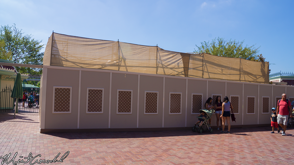 Disneyland Resort, Disneyland, Exit, Turnstile, Refurbishment, Refurb