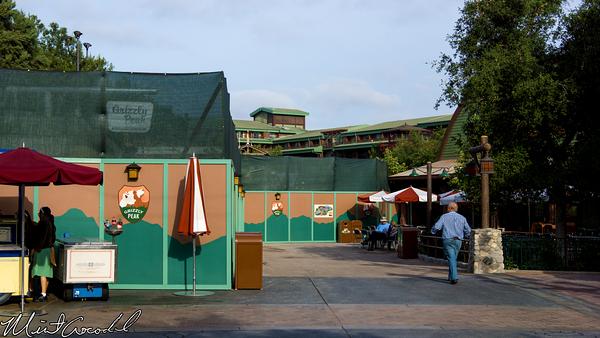 Disneyland Resort,, Disney California Adventure, Grizzly, Peak, Airfield, Sign, Refurbishment, Refurbish, Refurb, Condor, Flats