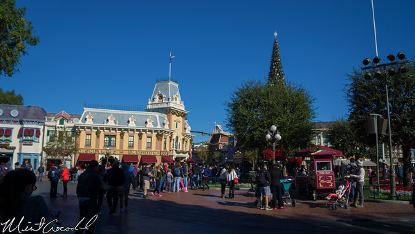 Disneyland Resort, Disneyland, Main Street U.S.A., Christmas Time, Christmas, Time