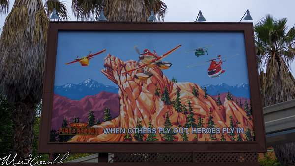 Disneyland Resort, Disney California Adventure, Condor Flats, Planes, 2