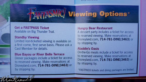 Disneyland Resort, Disneyland, 2015, Guide, Map, Fantasmic, FastPass, Dining