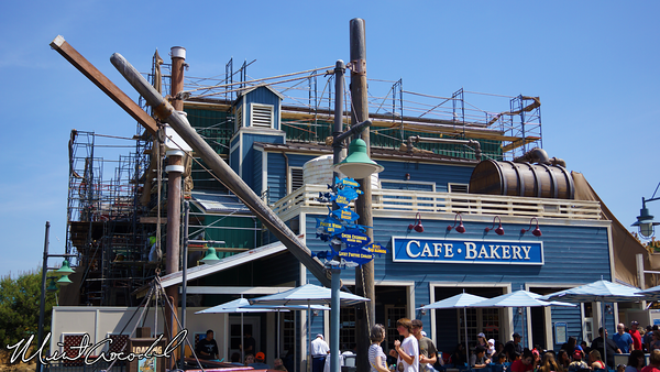 Disneyland Resort, Disney California Adventure, Boudin Bakery, Refurbishment, Refurb