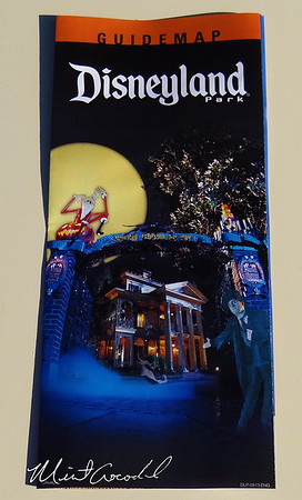 Disneyland Resort, Disneyland, Halloween Time, Guide Map