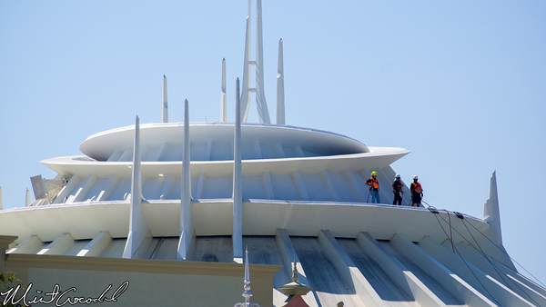 Disneyland Resort, Disneyland, Space Mountain, Cleaning