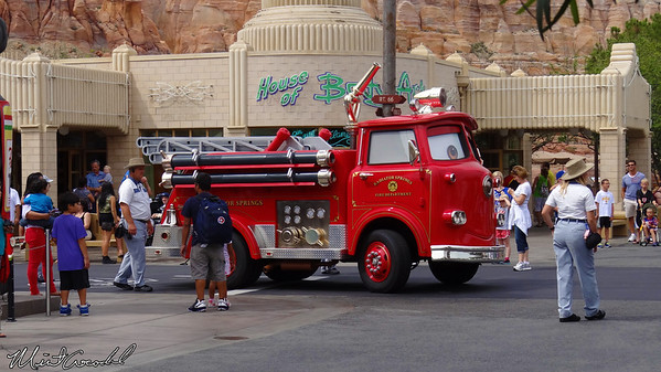 Disneyland Resort, Disney California Adventure, Cars Land, Red, Limited, Time, Magic