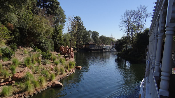 Disneyland Resort, Disneyland, Mark Twain, Rivers of America