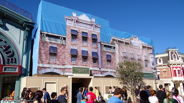 Disneyland Resort, Disneyland, Main Street U.S.A., Fortuosity, Refurbishment, Refurb