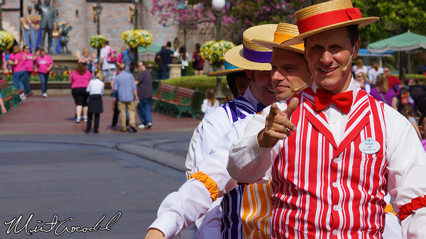 Disneyland Resort, Disneyland, Main Street U.S.A., Dapper Dans