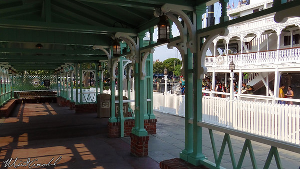 Disneyland Resort, Disneyland, Mark Twain, Dock