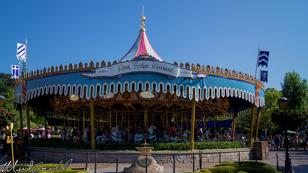 Disneyland Resort, Fantasyland, King Arthur Carrousel