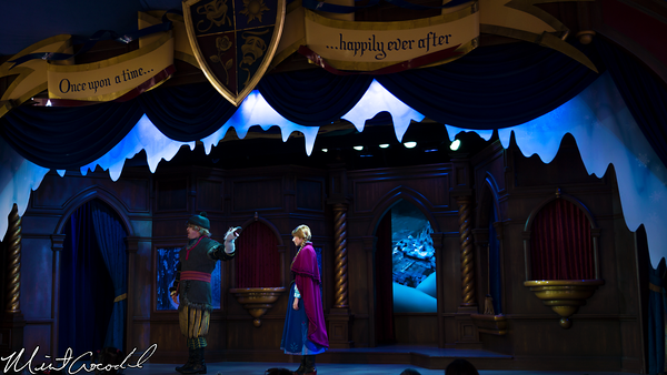 Disneyland Resort, Disneyland, Fantasyland, Royal, Theatre, Frozen