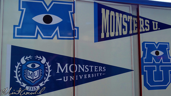 Disneyland Resort, Disney California Adventure, MU, Monsters University