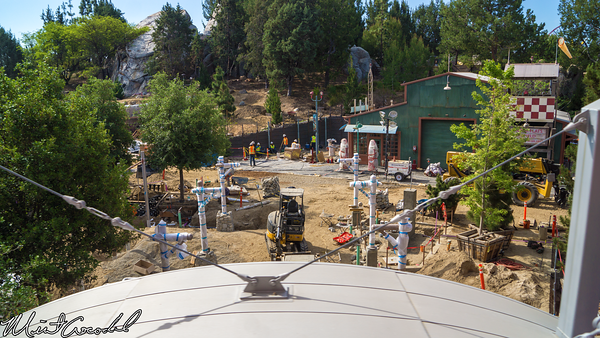 Disneyland Resort, Disneyland, Disney California Adventure, Monorail, Grizzly, Peak, Airfield, Condor, Flats, Refurbishment, Refurb, Refurbis